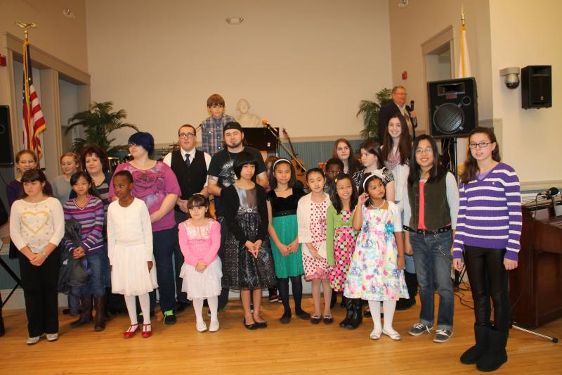 2014 Johnson Music Recital Performers